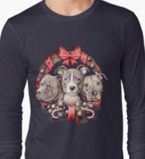 It's a Pit Bull Christmas Long Sleeve T-Shirt