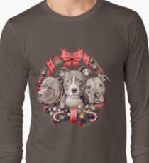 It's a Pit Bull Christmas Long Sleeve T-Shirt