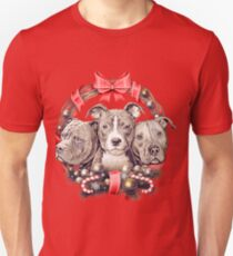 It's a Pit Bull Christmas T-Shirt