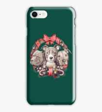 It's a Pit Bull Christmas iPhone Case/Skin
