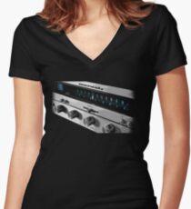 Marantz 2216 Faceplate Women's Fitted V-Neck T-Shirt