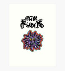The Funk - Mighty Boosh Art Print