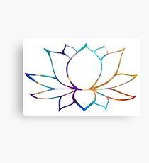 The Zen Lotus Canvas Print