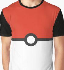 Minimalist Pokeball Graphic T-Shirt