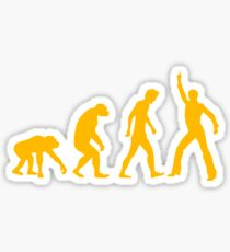 evolution - Saturday Night Fever Sticker