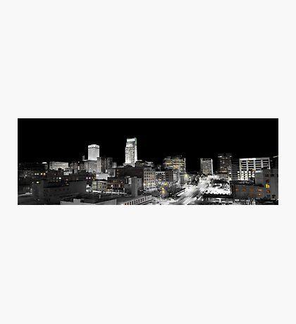 Omaha Night Lights Photographic Print