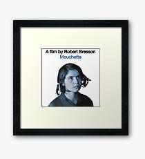 MOUCHETTE // ROBERT BRESSON (1967) Framed Print