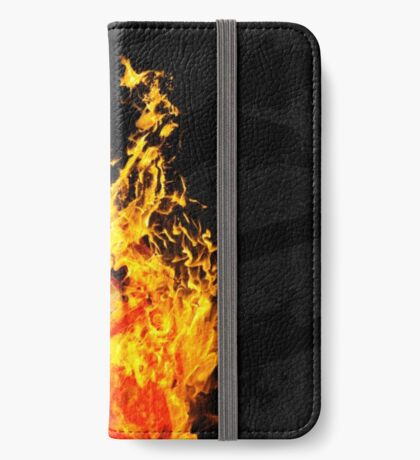I Will Burn the HEART Out of You iPhone Wallet