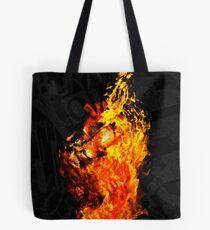 I Will Burn the HEART Out of You Tote Bag
