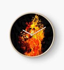 I Will Burn the HEART Out of You Clock
