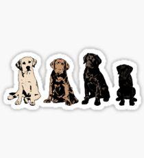 Rainbow of Puppy Love Sticker