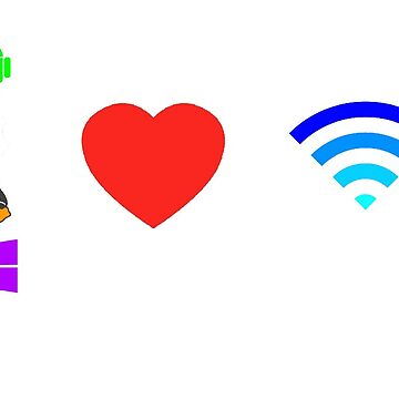 OS love Wifi full color by NPenedo