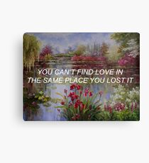 Find Love Canvas Print