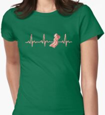 My Heart Beats For Bacon Womens Fitted T-Shirt