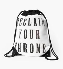 Reclaim Your Throne - Night Drawstring Bag