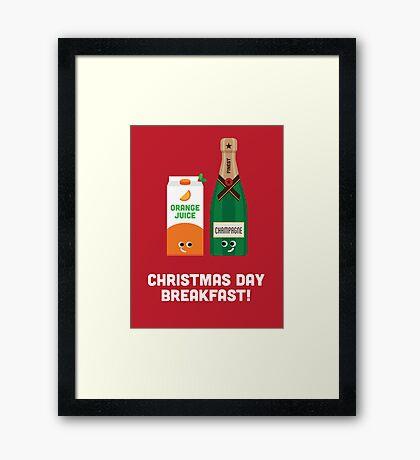 Christmas Character Building - Christmas Day Breakfast 1 Framed Print