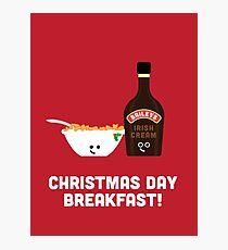 Christmas Character Building - Christmas Day Breakfast 2 Photographic Print