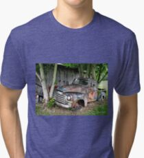 """Old Clunker""... prints and products Tri-blend T-Shirt"