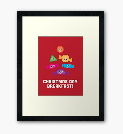 Christmas Character Building - Christmas Day Breakfast 1 Framed Print
