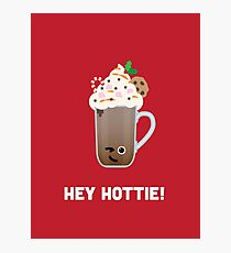 Christmas Character Building - Hey Hottie Photographic Print