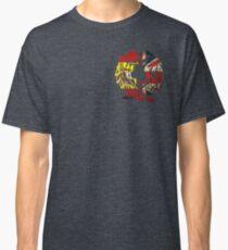SPAIN BRITAIN WOLF LOVE FLAG Classic T-Shirt