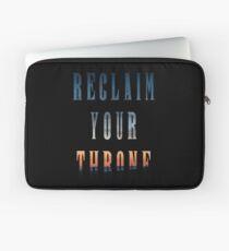 Reclaim Your Throne - Daybreak/black Laptop Sleeve
