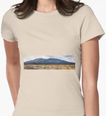 The Arizona desert mountains Womens Fitted T-Shirt