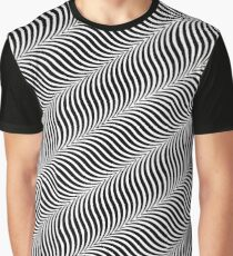 Waves of Illusion Graphic T-Shirt