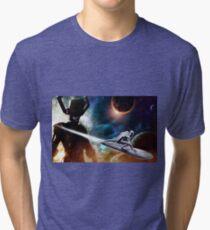 Camiseta de tejido mixto Sliver Surfer