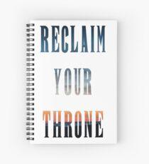 Reclaim Your Throne - Daybreak/white Spiral Notebook