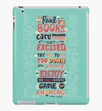 Read Books iPad Case/Skin
