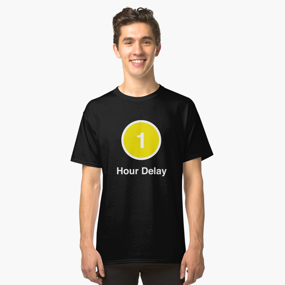 Another Delay Classic T-Shirt Front