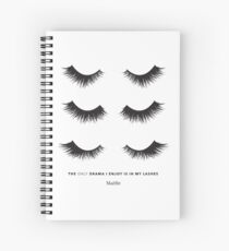 Triple lash drama - Maelle Spiral Notebook
