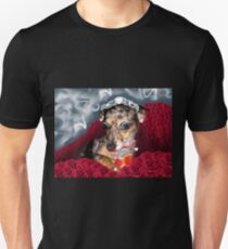 Ooh, La La, You Handsome Cur! Wooof!!! Unisex T-Shirt