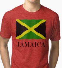 Jamaica flag Tri-blend T-Shirt