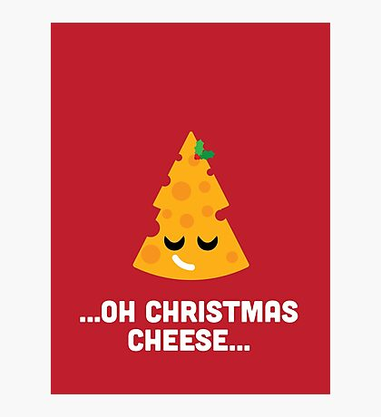 Christmas Character Building - Oh Christmas Cheese… Photographic Print