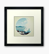 Ocean & Earth Framed Print