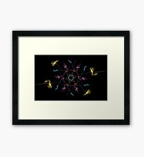 pagan star Framed Print