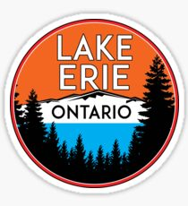 LAKE ERIE ONTARIO CANADA BOATING FISHING GREAT LAKES Sticker