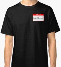 Hello, My Name Is Inigo Montoya - Red Classic T-Shirt
