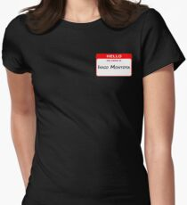 Hello, My Name Is Inigo Montoya - Red Women's Fitted T-Shirt