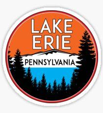 LAKE ERIE PENNSYLVANIA BOATING FISHING GREAT LAKES Sticker