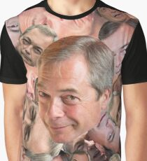 CAN'T BARRAGE THE FARAGE Graphic T-Shirt