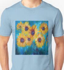Impressionistic Sunflowers Unisex T-Shirt
