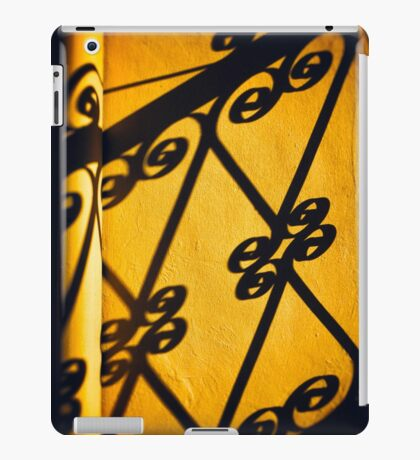 Gutter and ornate shadows iPad Case/Skin