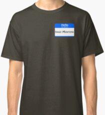 Hello, My Name Is Inigo Montoya - Blue Classic T-Shirt