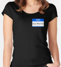 Hello, My Name Is Inigo Montoya - Blue Women's Fitted Scoop T-Shirt