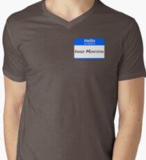 Hello, My Name Is Inigo Montoya - Blue Mens V-Neck T-Shirt