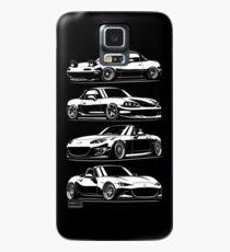Generations. MX5 Miata Case/Skin for Samsung Galaxy