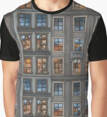 Mosaic of City Graphic T-Shirt